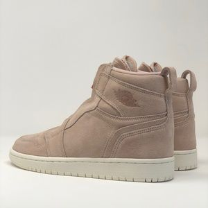 big sale ca28a 291e4 Nike Shoes - Nike Air Jordan 1 High Zip SZ 7.5 Beige Red Bronze